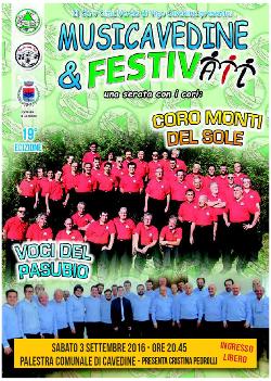 Musicavedine e FestivAIL 2016 - Cavedine, 3 settembre 2016
