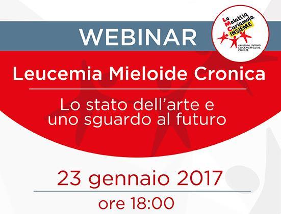 Webinar Leucemia mieloide cronica